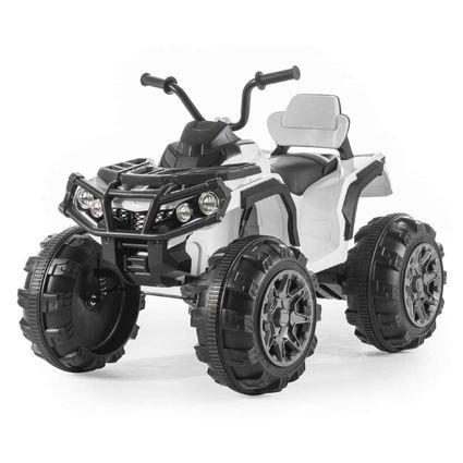 Электроквадроцикл Grizzly 2WD (АКБ 12v, колеса резина, сиденье кожа, пульт, музыка)